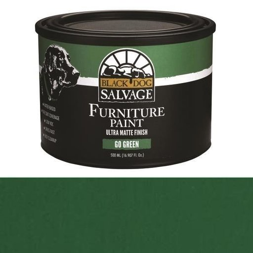 View a Larger Image of 'Go Green' - Green Furniture Paint, PintPlus 500ml (16.907 fl. oz.)