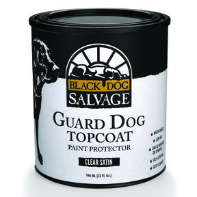 'Guard Dog' Furniture Paint Topcoat, Satin, Quart 946ml (32 fl. oz.)
