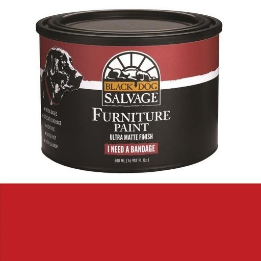 View a Larger Image of 'I Need a Bandage' - Red Furniture Paint, PintPlus 500ml (16.907 fl. oz.)