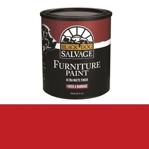 View a Larger Image of 'I Need a Bandage' - Red Furniture Paint, Quart 946ml (32 fl. oz.)