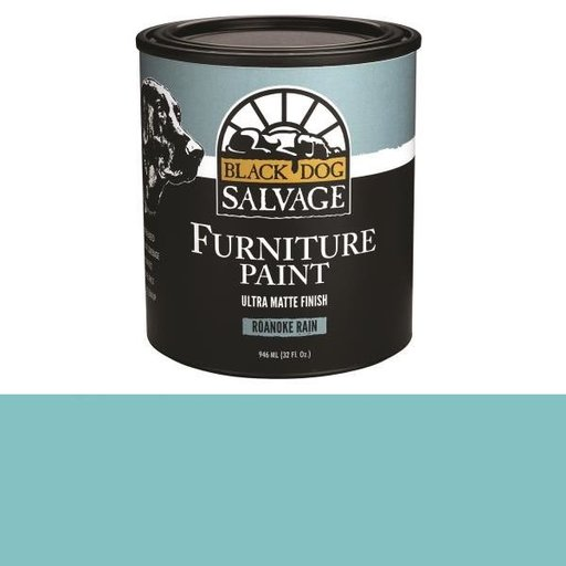 View a Larger Image of 'Roanoke Rain' - Light Blue Furniture Paint, Quart 946ml (32 fl. oz.)