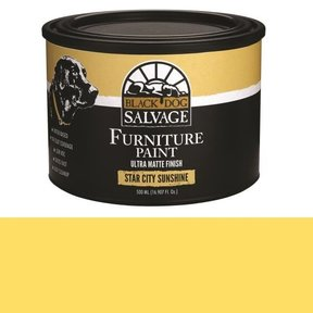'Star City Sunshine' - Yellow Furniture Paint, PintPlus 500ml (16.907 fl. oz.)