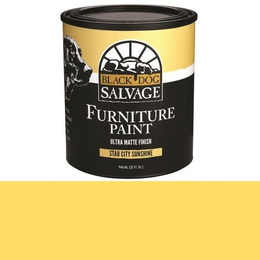 View a Larger Image of 'Star City Sunshine' - Yellow Furniture Paint, Quart 946ml (32 fl. oz.)