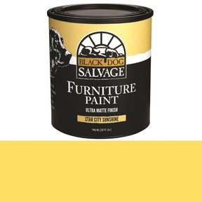 'Star City Sunshine' - Yellow Furniture Paint, Quart 946ml (32 fl. oz.)