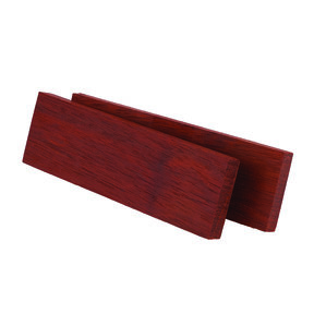 "Bloodwood 3/8"" x 1-1/2"" x 5"" Wood Knife Scale 2 pc"