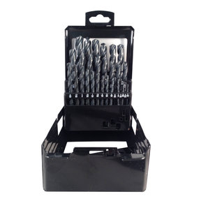 Blu-Mol 29-Piece Black Oxide HSS Drill Bit Set