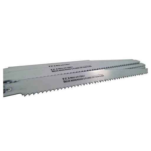 "View a Larger Image of Blu-Mol Bi-Metal Reciprocating Saw Blade, 9"" L, 6 TPI, 5-Pack"