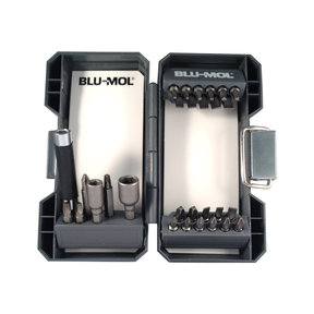 Blu-Mol Screwdriver Bit Set, 29-Piece