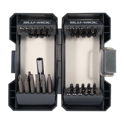 View a Larger Image of Blu-Mol Screwdriver Bit Set, 40-Piece