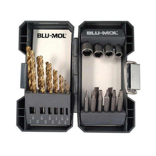 View a Larger Image of BLML 24pc Tin Drill/Driver Set
