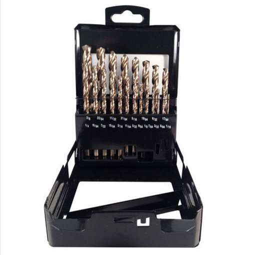 View a Larger Image of Blu-Mol Xtreme Cobalt Drill Bit Set, 21-Piece