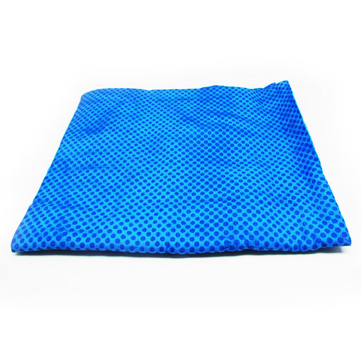 "View a Larger Image of Blue Cooling Towel 32"" x 16"""