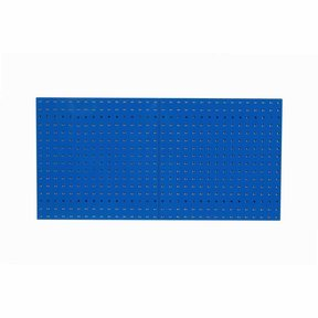 Blue Epoxy, 18 Gauge Steel Square Hole Pegboards