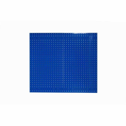 View a Larger Image of Blue Epoxy, 18 Gauge Steel Square Hole Pegboards