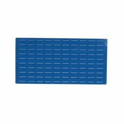 View a Larger Image of blue epoxy coated louvered panel