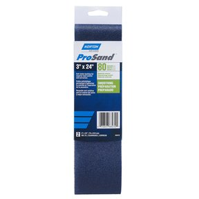 Blue Fire 3 x 24 Sanding Belt 80 G