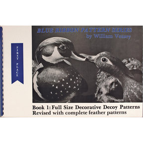 Blue Ribbon Pattern Series: Full Size Decorative Decoy Patterns