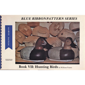 Blue Ribbon Pattern Series: Hunting Birds