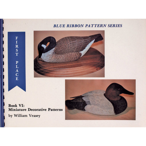 View a Larger Image of Blue Ribbon Pattern Series: Miniature Decorative Patterns