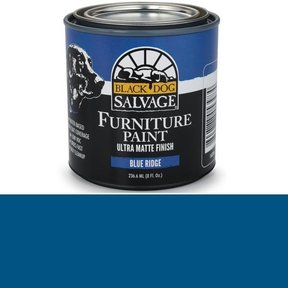 Blue Ridge' - Blue Furniture Paint, 1/2 Pint 236.6ml (8 fl. Oz.)