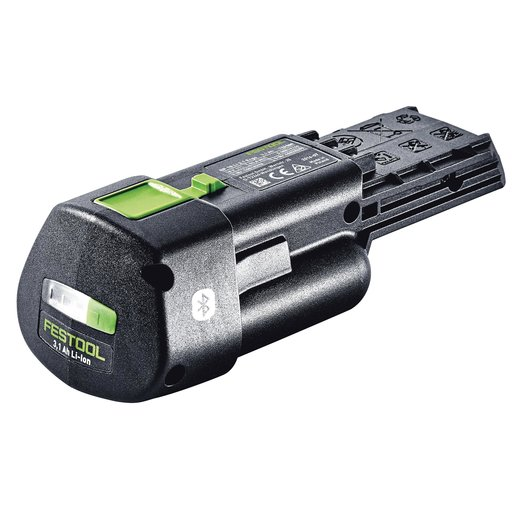 View a Larger Image of Bluetooth 3.1Ah ERGO Lithium-Ion Battery Pack for 18V Cordless Tools