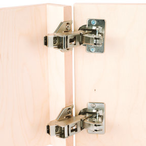 Clip Top 170 degrees Opening Face Frame Hinge, Pair