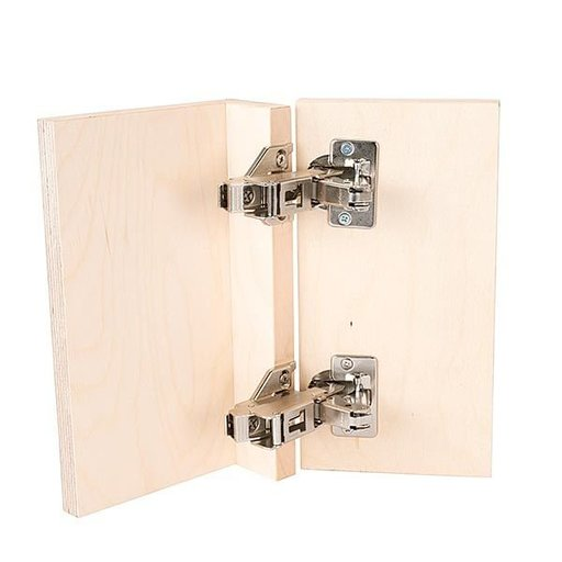View a Larger Image of Clip Top 170 degrees Opening Face Frame Hinge, Pair