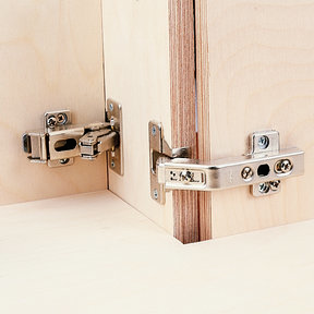 Clip Top 60 degrees Bi-Fold Hinge, Pair