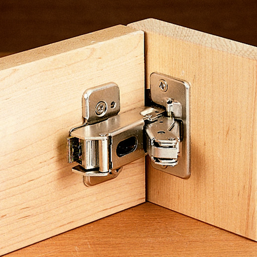 View a Larger Image of Clip Top Hinge w/cam Plate, 170 Degrees Full