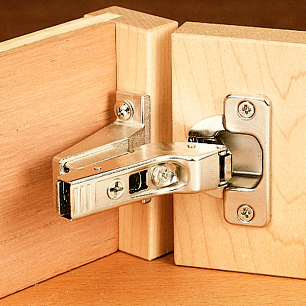 Clip Top Inset Hinge, Face Frame