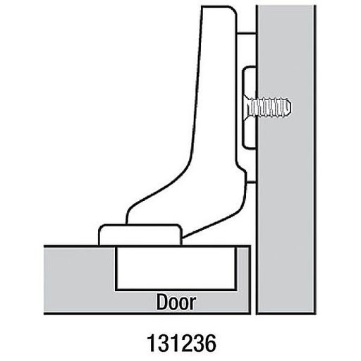 View a Larger Image of Clip Top Inset Frameless Hinge Pair