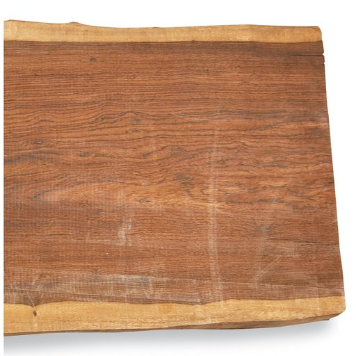 "View a Larger Image of Bocote Slab 62"" x 14"" x 1-1/4"""