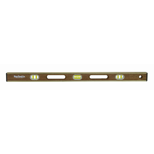 View a Larger Image of Brass Bound Level, 18 Inch