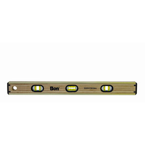 Laminate Brass Bound Level, 24 Inch