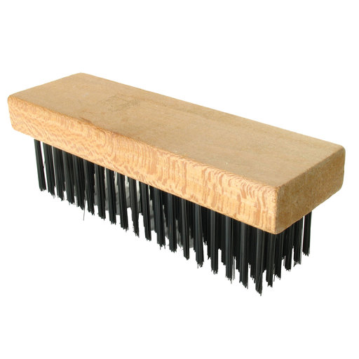 View a Larger Image of Straight Back Wire Brush, 7-1/8 In x 2-1/4 In