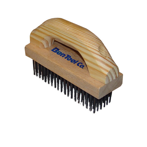 View a Larger Image of Wire Brush, With Scrubbing Handle