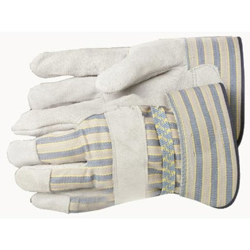 View a Larger Image of Leather Palm Gloves - Size Large