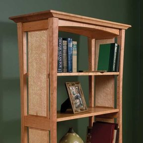 Bookcase With Flair - Downloadable Plan