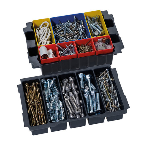 View a Larger Image of Box Insert Set with 5 divisions for MINI T-LOC III systainers