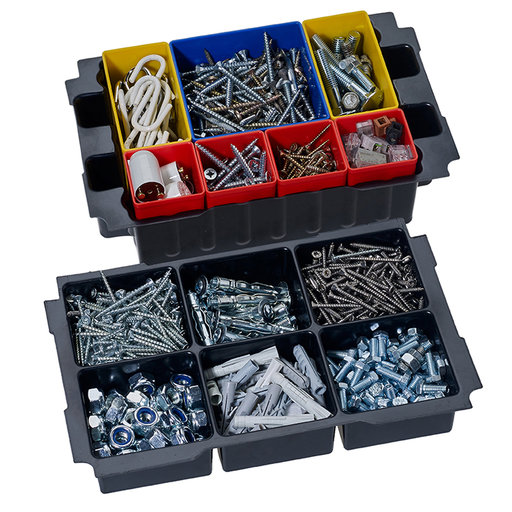 View a Larger Image of Box Insert Set with 6 divisions for MINI T-LOC III systainers