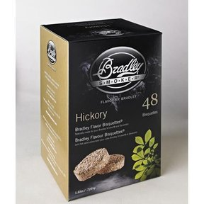 Hickory Bisquettes, 48 Pack