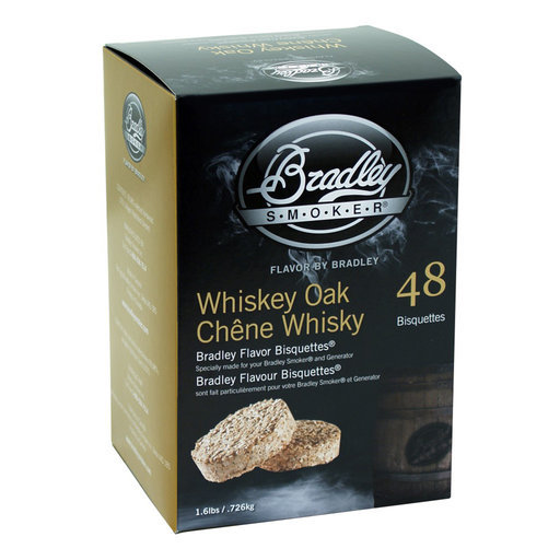 View a Larger Image of Whiskey Oak Bisquettes, 48 Pack