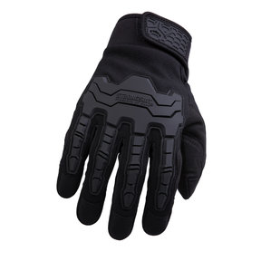 Brawny Gloves, Black, XXL