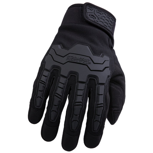 View a Larger Image of Brawny Plus Gloves, Black, Small