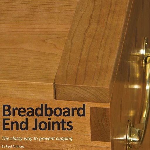 View a Larger Image of Breadboard End Joints Downloadable Technique