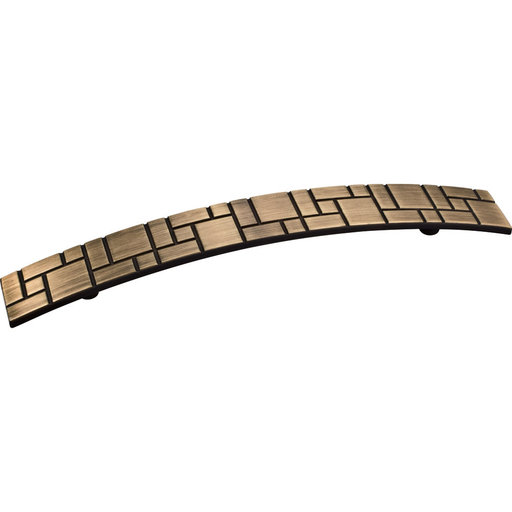 View a Larger Image of Breighton Pull, 160 mm C/C, Antique Brushed Satin Brass
