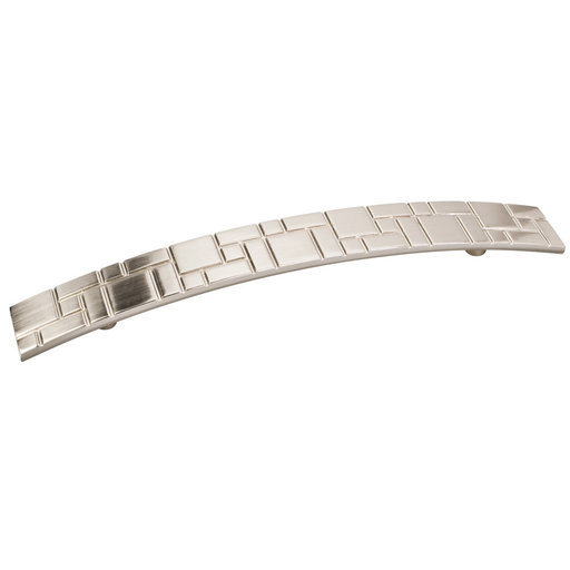 View a Larger Image of Breighton Pull, 160 mm C/C, Satin Nickel