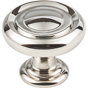 "Bremen 1 Knob, 1-1/4"" Dia.,  Polished Nickel"