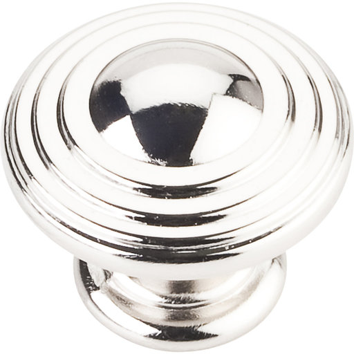 "View a Larger Image of Bremen 2 Stacked Knob, 1-1/4"" Dia.,  Polished Nickel"