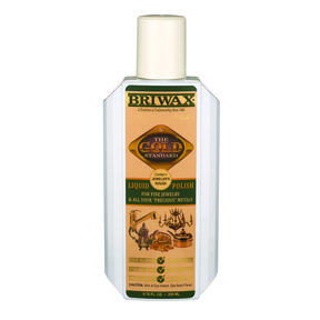 Briwax Gold Standard Liquid Metal Polish 6.76 oz.